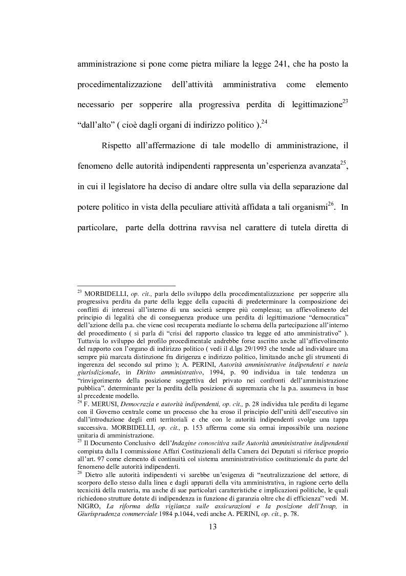 Anteprima della tesi: La partecipazione al procedimento in materia antitrust davanti all'Autorità Garante della Concorrenza e del Mercato, Pagina 10