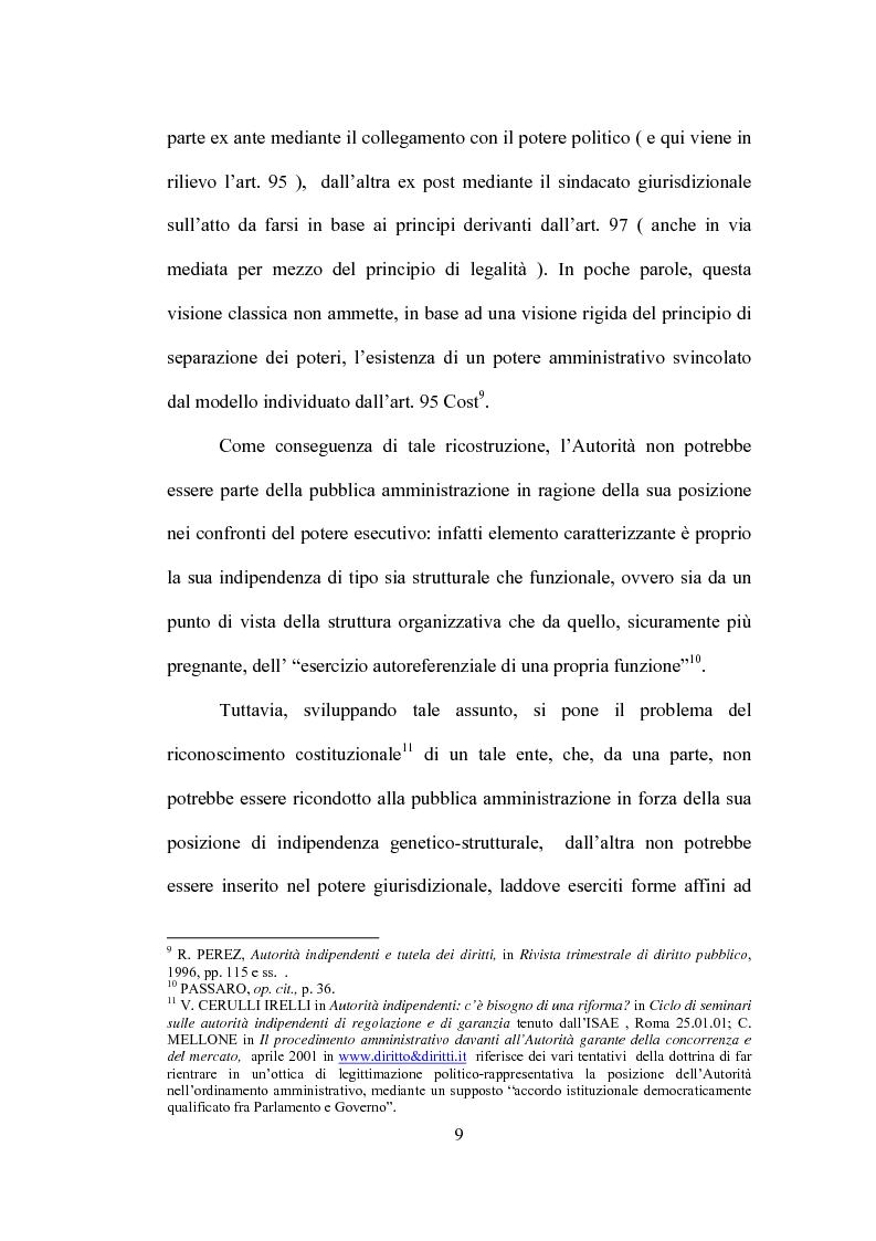 Anteprima della tesi: La partecipazione al procedimento in materia antitrust davanti all'Autorità Garante della Concorrenza e del Mercato, Pagina 6