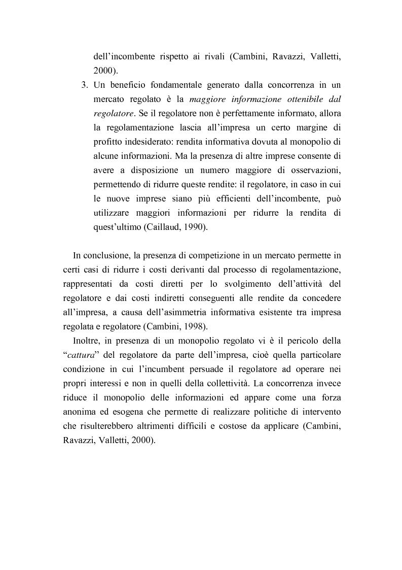 Anteprima della tesi: Liberalizzazione del mercato delle telecomunicazioni: evoluzione e andamento dei prezzi, Pagina 12