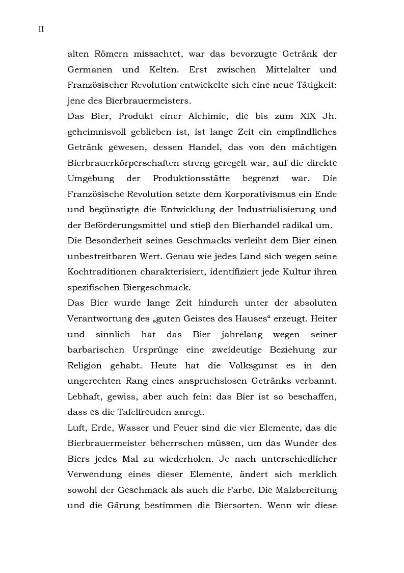 Anteprima della tesi: Das Bier - La birra, Pagina 2