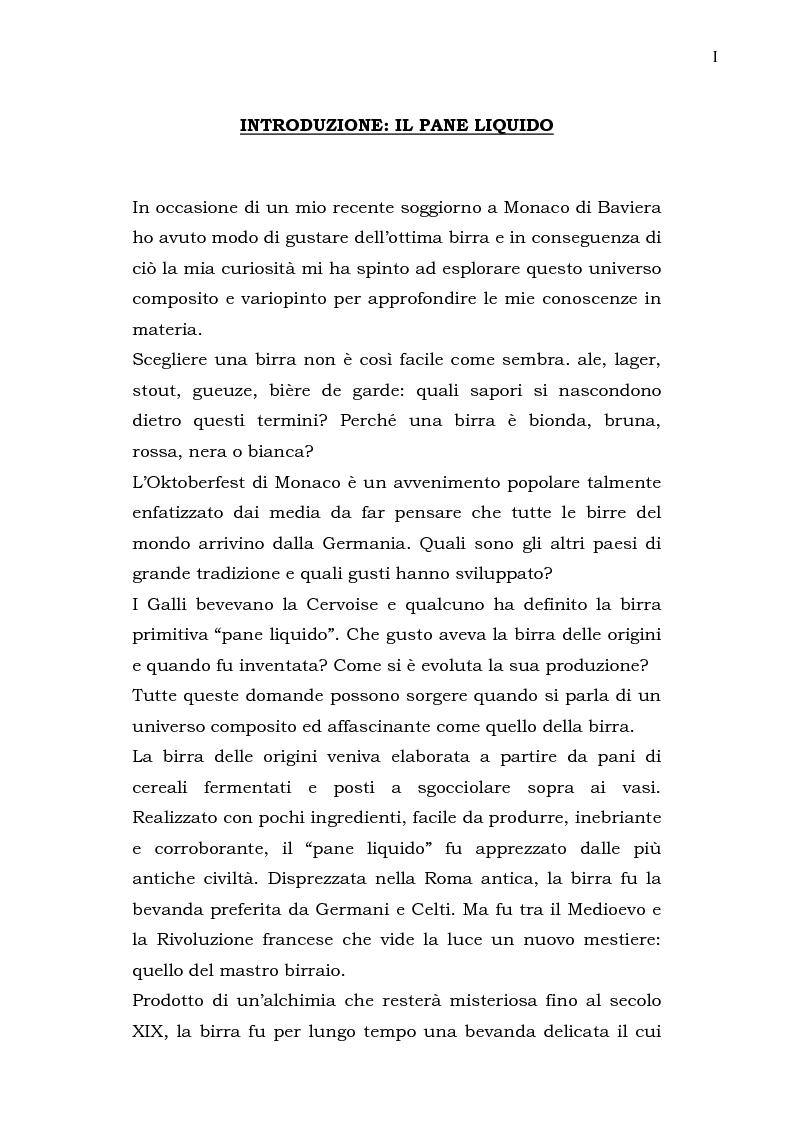 Anteprima della tesi: Das Bier - La birra, Pagina 4