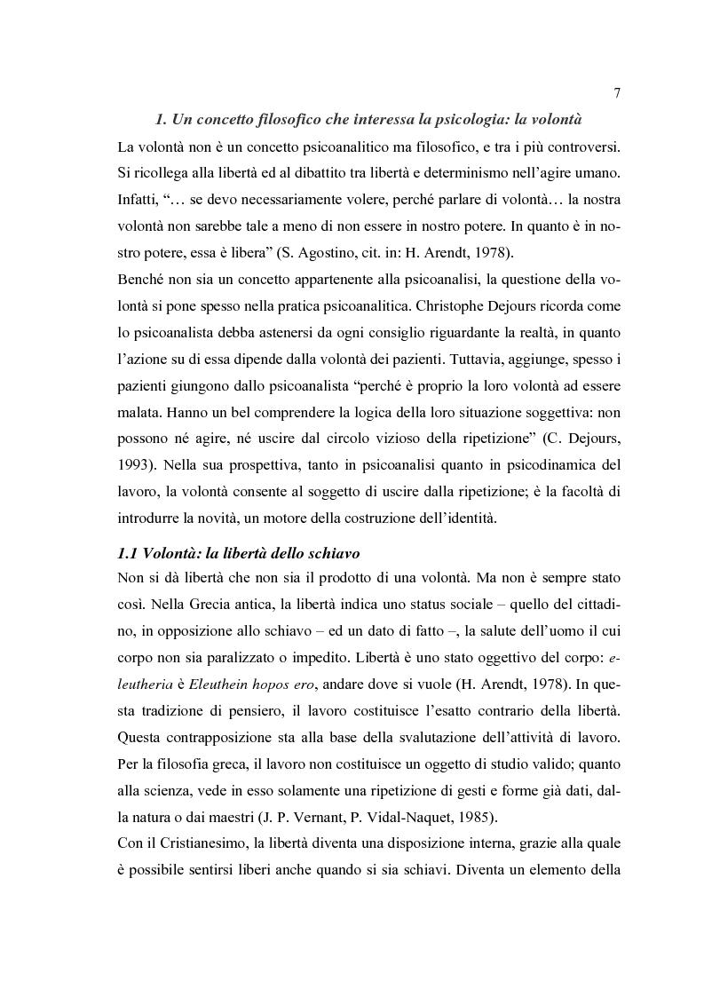 Anteprima della tesi: Analisi psicodinamica delle situazioni di lavoro: uno studio di caso presso un ospedale della provincia di Bergamo, Pagina 3