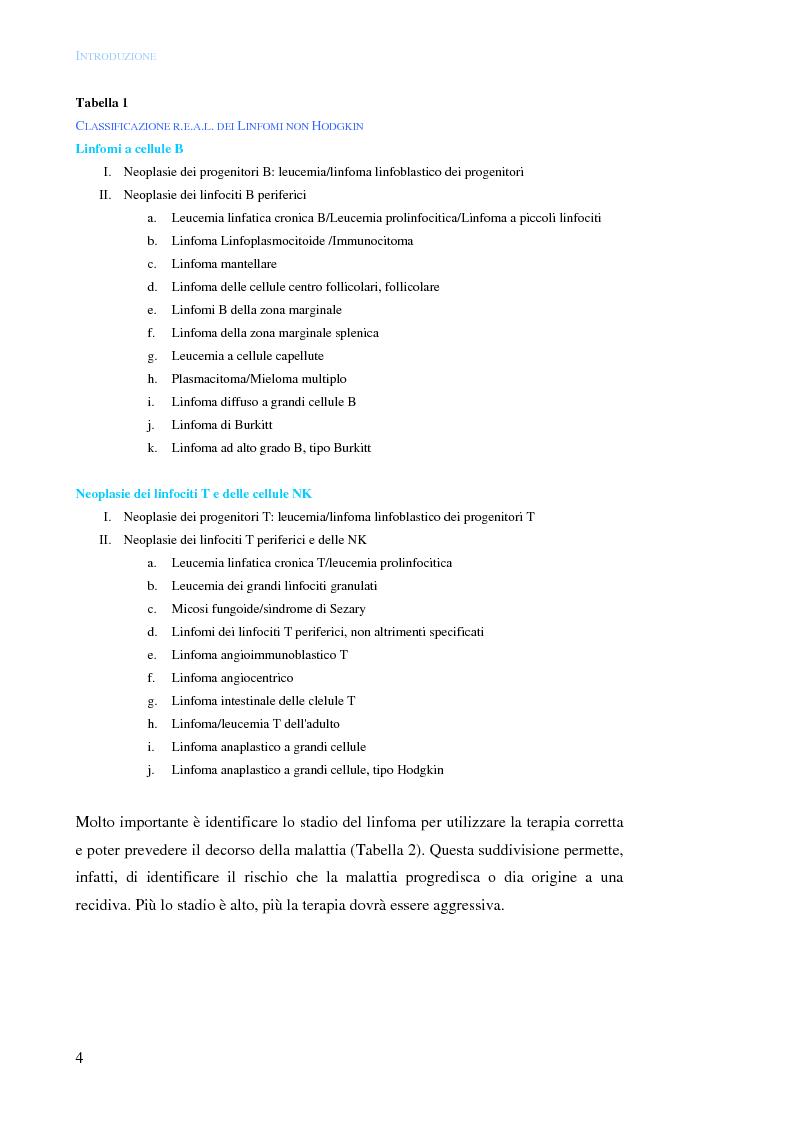 Anteprima della tesi: Distruzione selettiva di cellule linfomatose CD22+ mediante targeting molecolare della saporina-S6, Pagina 6