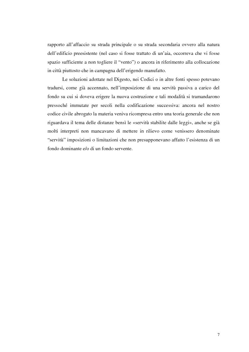 Anteprima della tesi: La distanza tra costruzioni: profili sostanziali e tutela processuale in diritto amministrativo e civile, Pagina 4