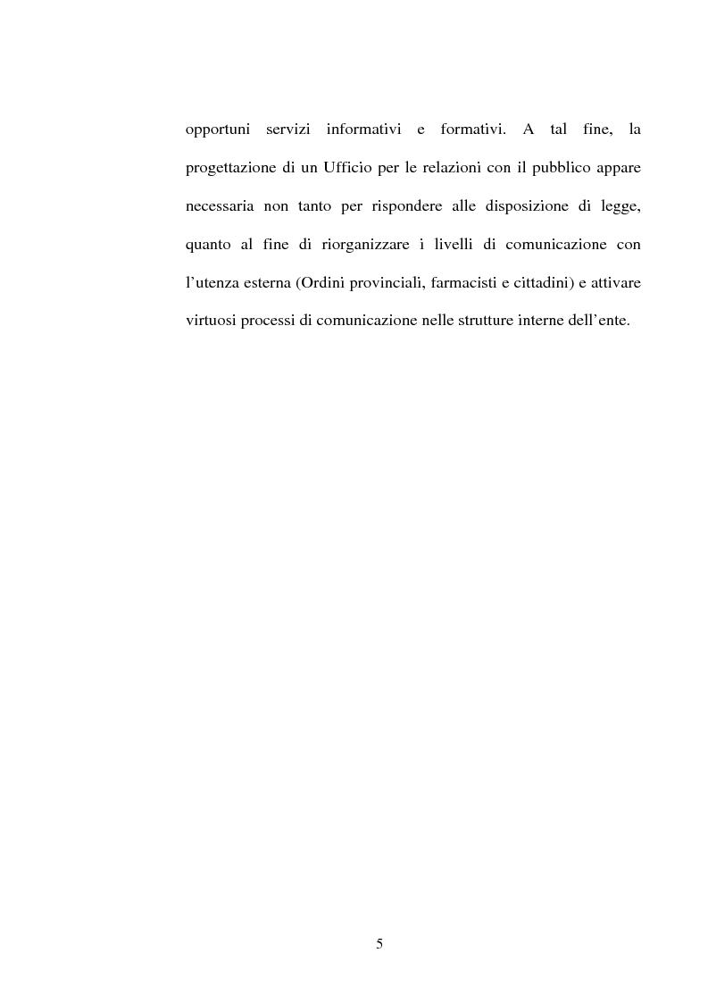 Anteprima della tesi: Comunicazione pubblica e Ordini professionali, Pagina 3