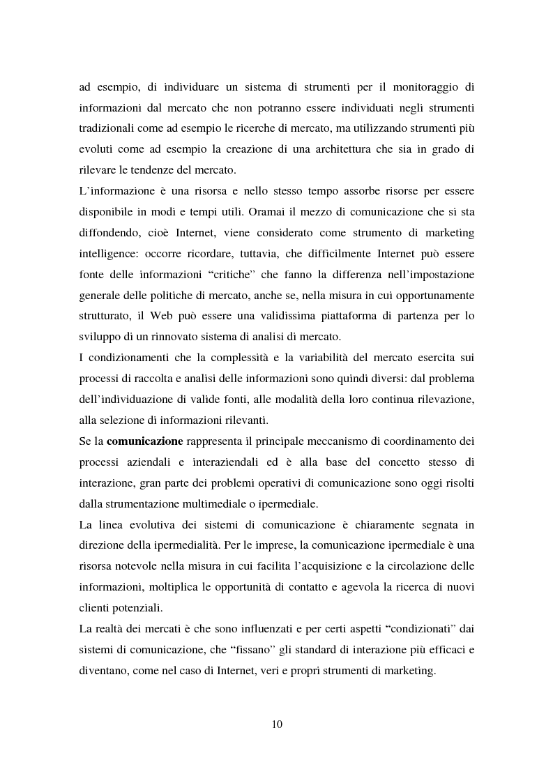 Anteprima della tesi: Le nuove tecniche e tecnologie in azienda: L'utilizzo della business intelligence per il customer relationship management, Pagina 7