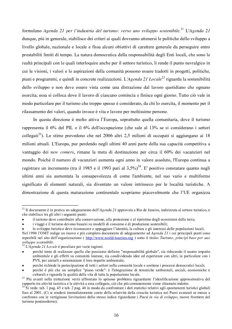Anteprima della tesi: Turismo responsabile: il Nicaragua e la Regione Centroamericana, Pagina 14