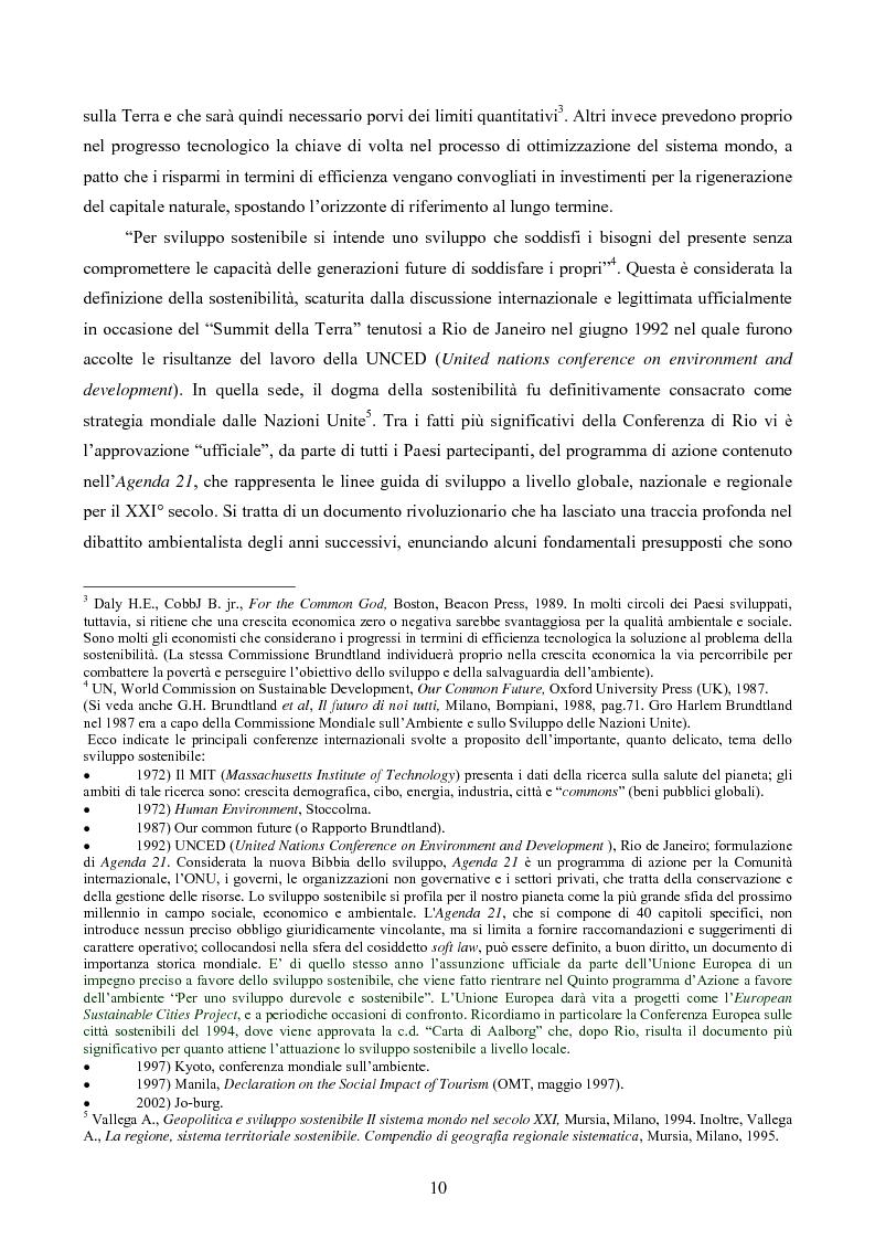 Anteprima della tesi: Turismo responsabile: il Nicaragua e la Regione Centroamericana, Pagina 8