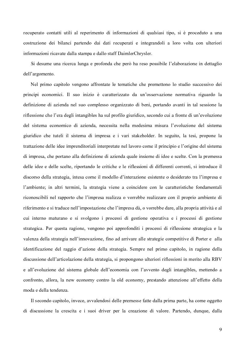 Anteprima della tesi: Le alleanze strategiche nel settore automobilistico, Pagina 3