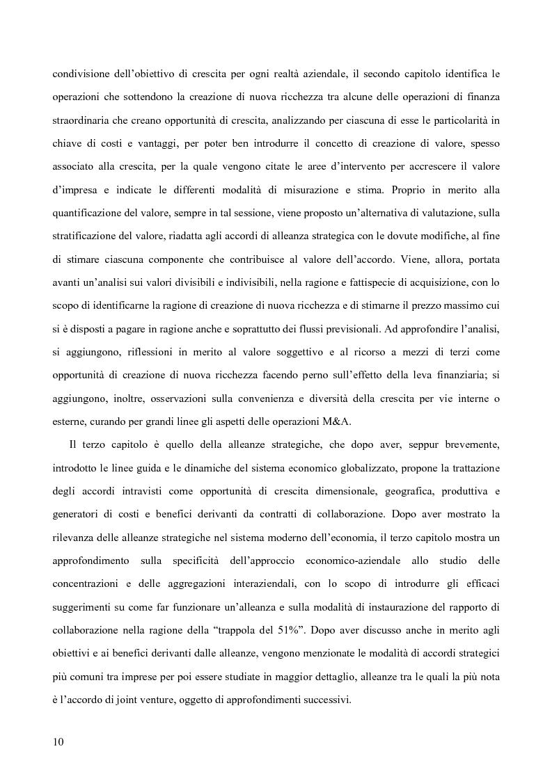 Anteprima della tesi: Le alleanze strategiche nel settore automobilistico, Pagina 4