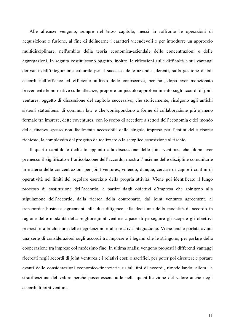 Anteprima della tesi: Le alleanze strategiche nel settore automobilistico, Pagina 5