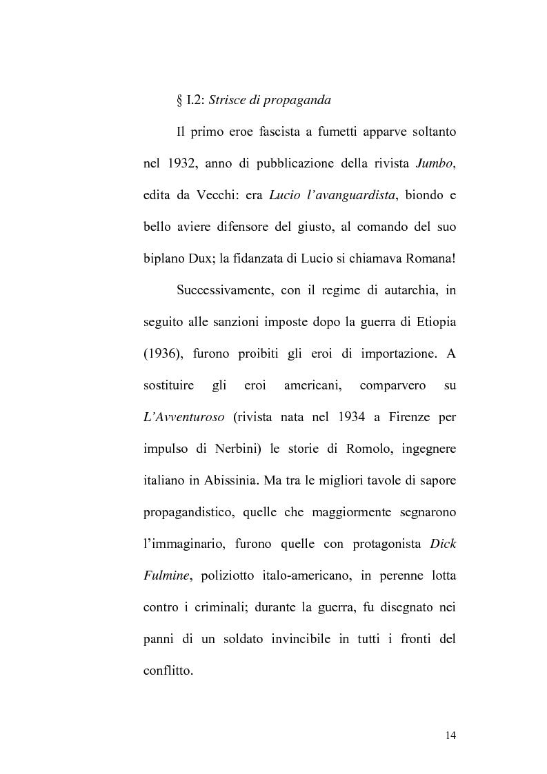 Anteprima della tesi: La donna nel fumetto durante il fascismo, Pagina 14