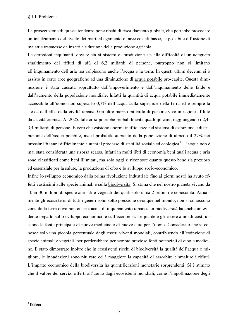Anteprima della tesi: La responsabilità sociale dell'impresa: la fiducia come fattore di successo competitivo, Pagina 11