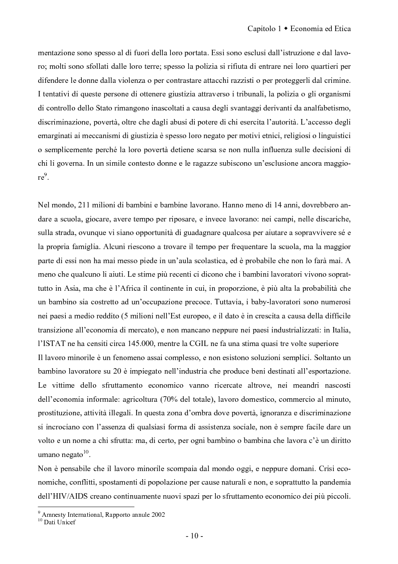 Anteprima della tesi: La responsabilità sociale dell'impresa: la fiducia come fattore di successo competitivo, Pagina 14