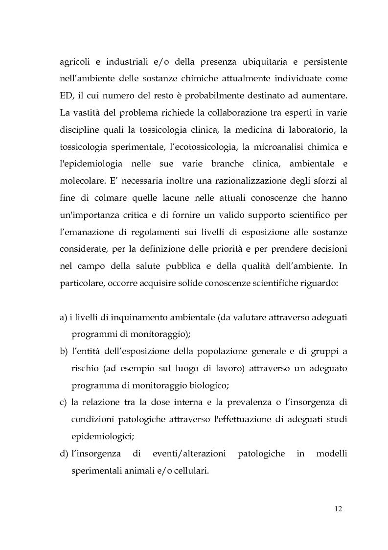 Anteprima della tesi: Endocrine Disruptors: Fertilità maschile e Metalli pesanti, Pagina 8