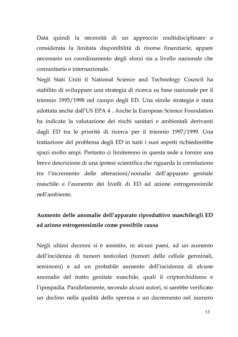 Anteprima della tesi: Endocrine Disruptors: Fertilità maschile e Metalli pesanti, Pagina 9