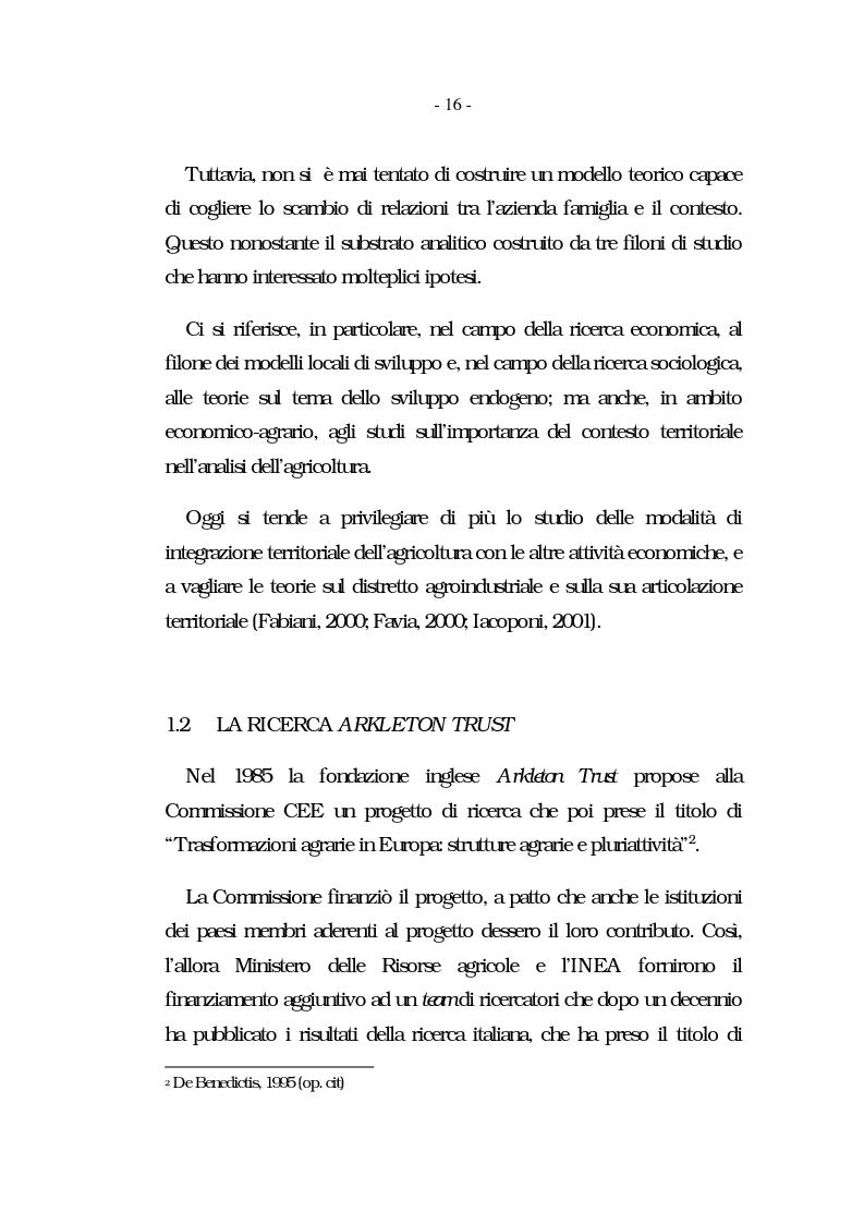 Anteprima della tesi: Nati per essere agricoltori? Aspettative in cambiamento nelle famiglie agricole ennesi, Pagina 13
