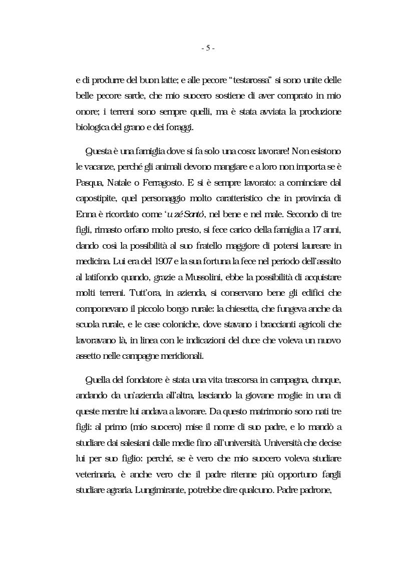 Anteprima della tesi: Nati per essere agricoltori? Aspettative in cambiamento nelle famiglie agricole ennesi, Pagina 2