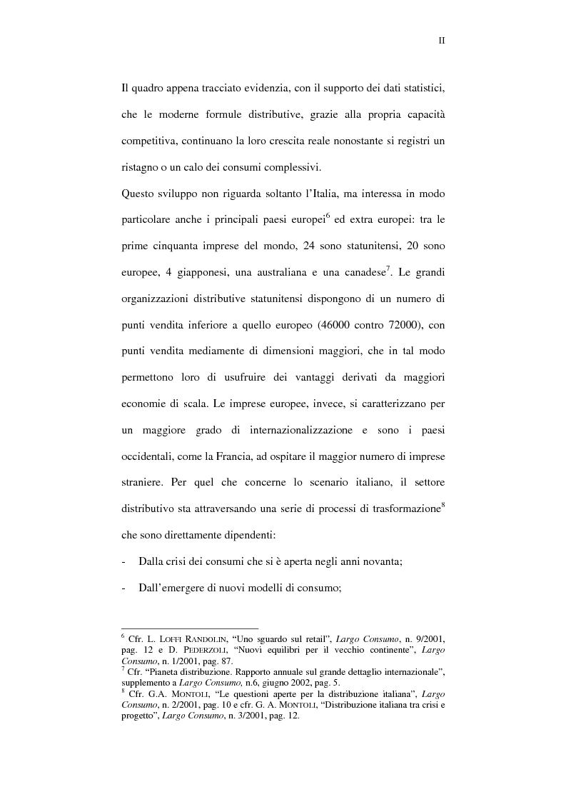 Anteprima della tesi: Il ruolo della comunicazione nelle aziende della distribuzione organizzata. Un manuale operativo per gli addetti alle filiali di vendita Despar in Campania., Pagina 2