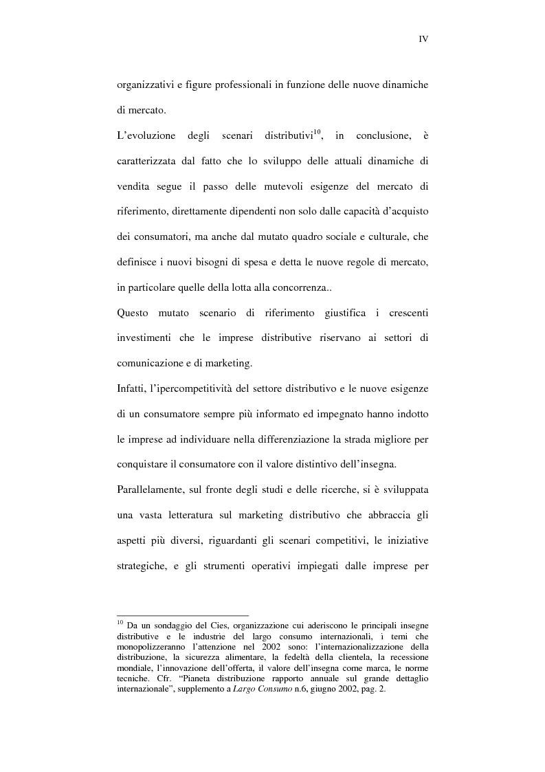 Anteprima della tesi: Il ruolo della comunicazione nelle aziende della distribuzione organizzata. Un manuale operativo per gli addetti alle filiali di vendita Despar in Campania., Pagina 4