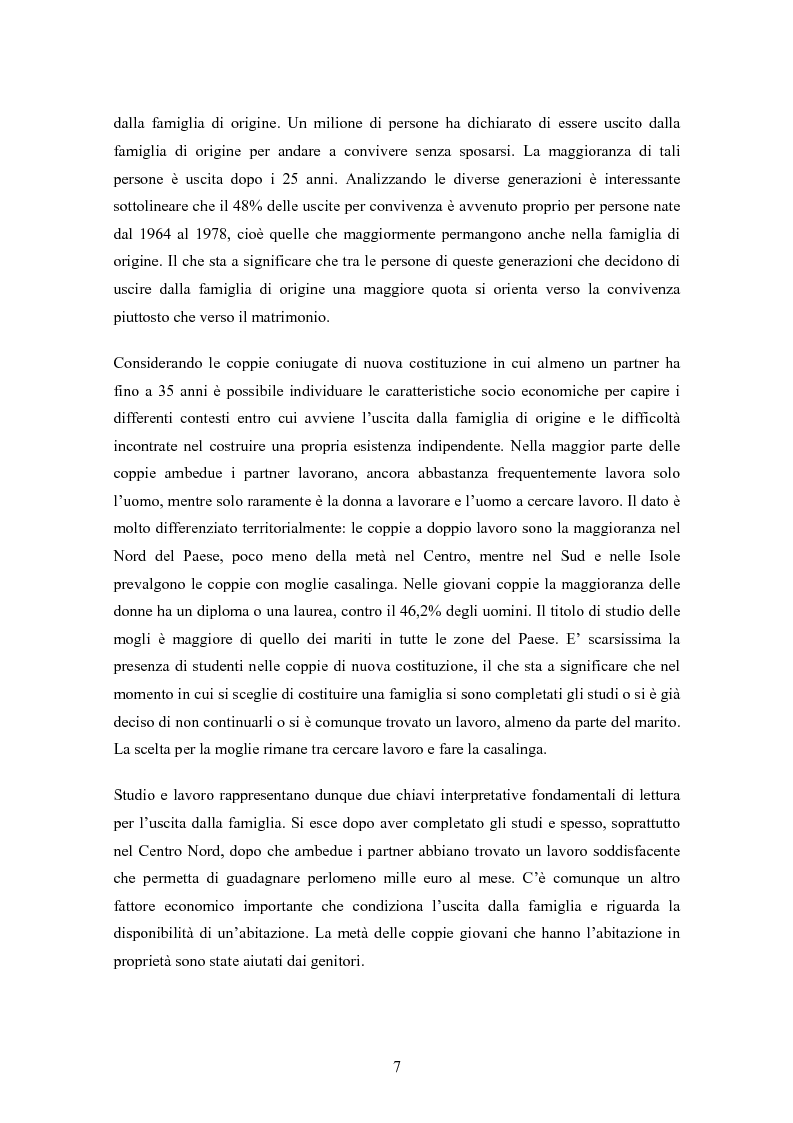 Anteprima della tesi: Sviluppo e prospettive del mercato di nicchia legato ai viaggi di nozze: Il caso ''AMARSI'', Pagina 9