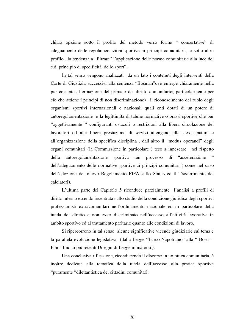 Anteprima della tesi: Il lavoro sportivo, Pagina 10