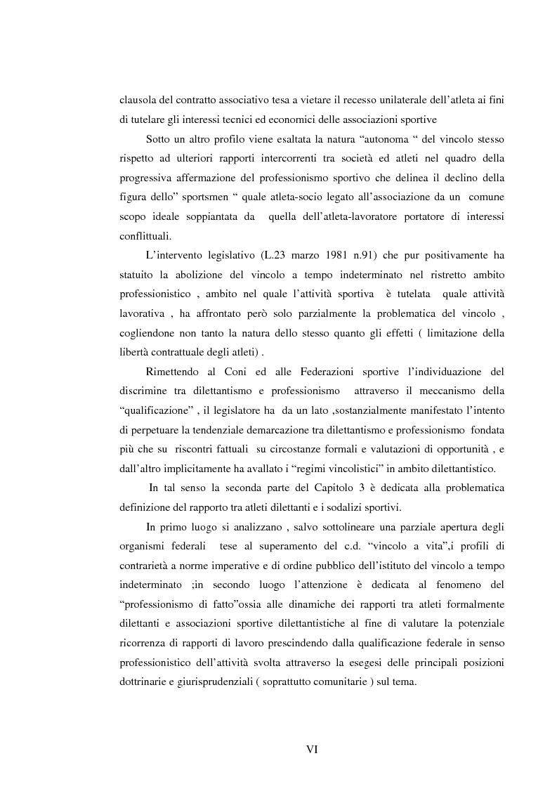 Anteprima della tesi: Il lavoro sportivo, Pagina 6