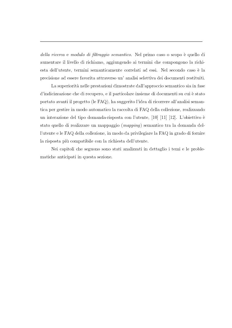 Anteprima della tesi: Analisi della semantica latente per la consultazione automatica di moduli domanda-risposta, Pagina 3
