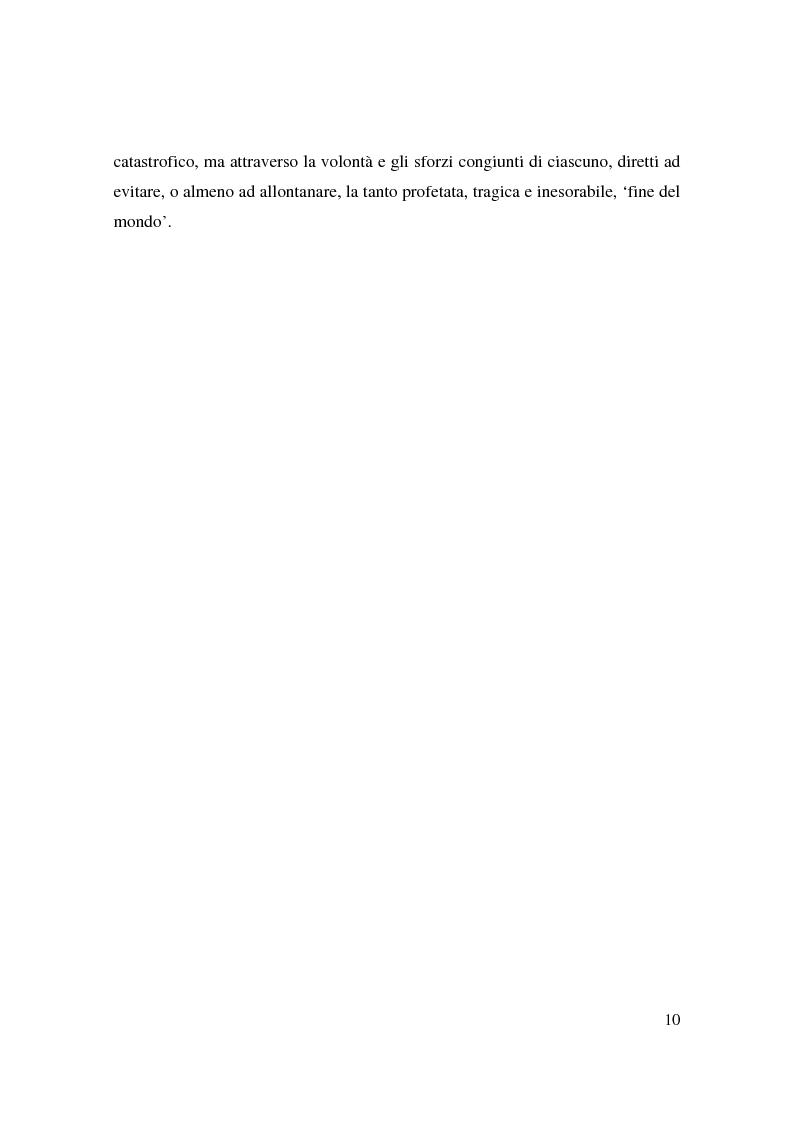 Anteprima della tesi: Apocalisse: senso della fine e mondo globale, Pagina 8