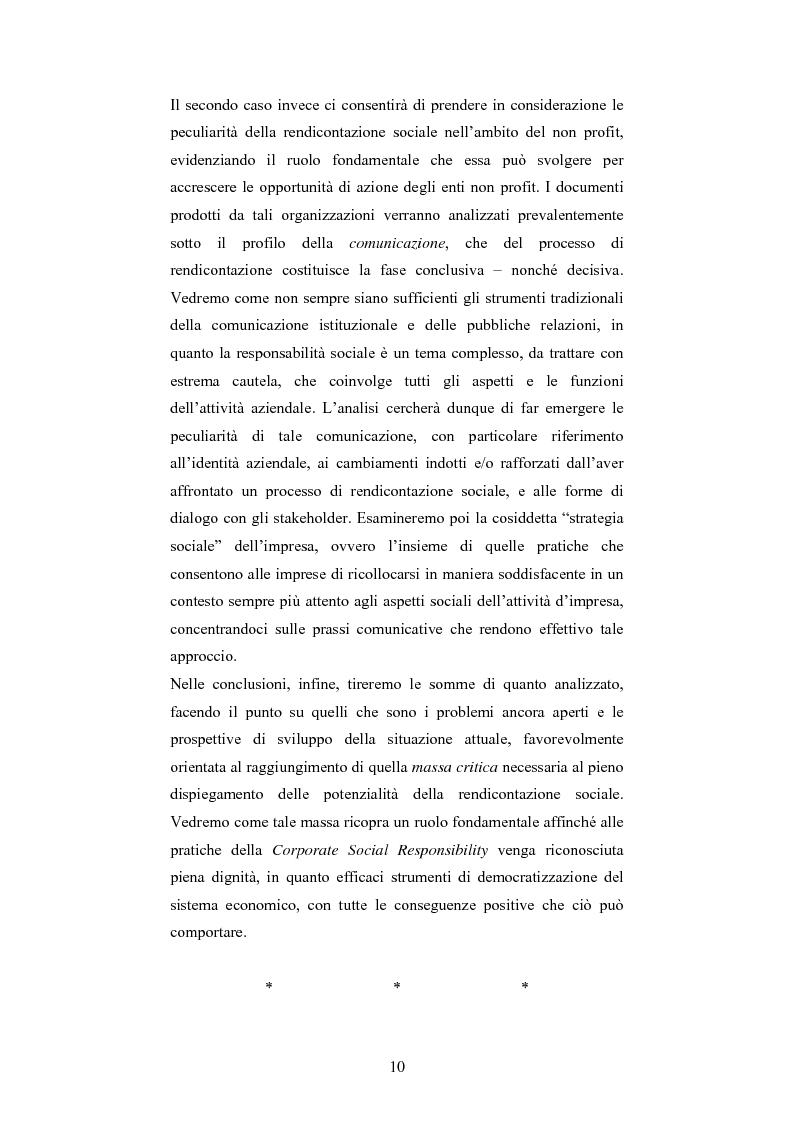 Anteprima della tesi: La responsabilità sociale d'impresa: accountability e modelli di rendicontazione, Pagina 7