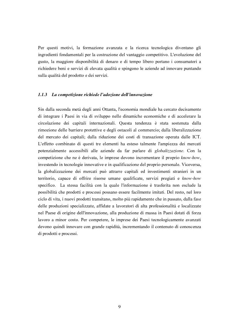Anteprima della tesi: Un sistema di Knowledge Center per il supporto alle decisioni: un'applicazione rivolta alle Pubbliche Amministrazioni ed alle Piccole e Medie Imprese del Territorio, Pagina 6