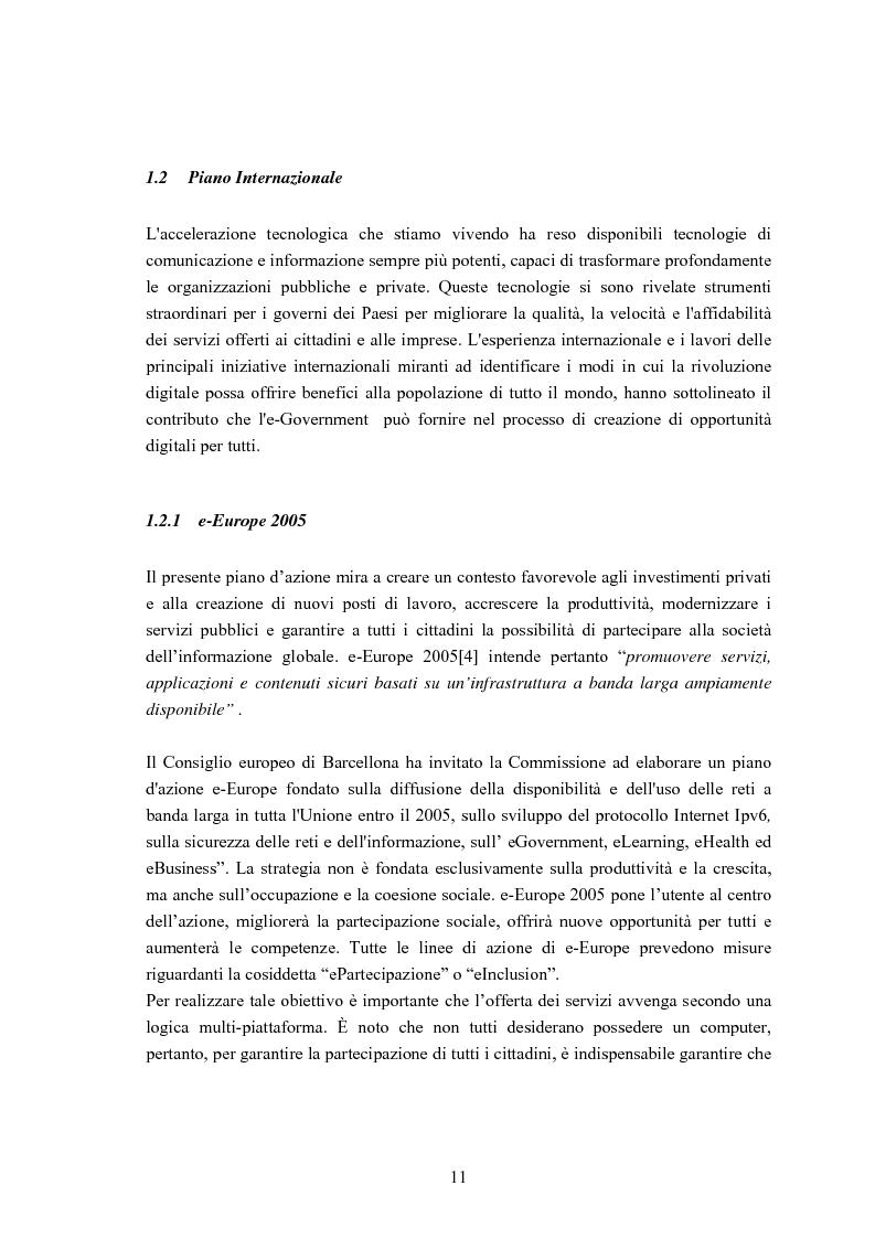 Anteprima della tesi: Un sistema di Knowledge Center per il supporto alle decisioni: un'applicazione rivolta alle Pubbliche Amministrazioni ed alle Piccole e Medie Imprese del Territorio, Pagina 8