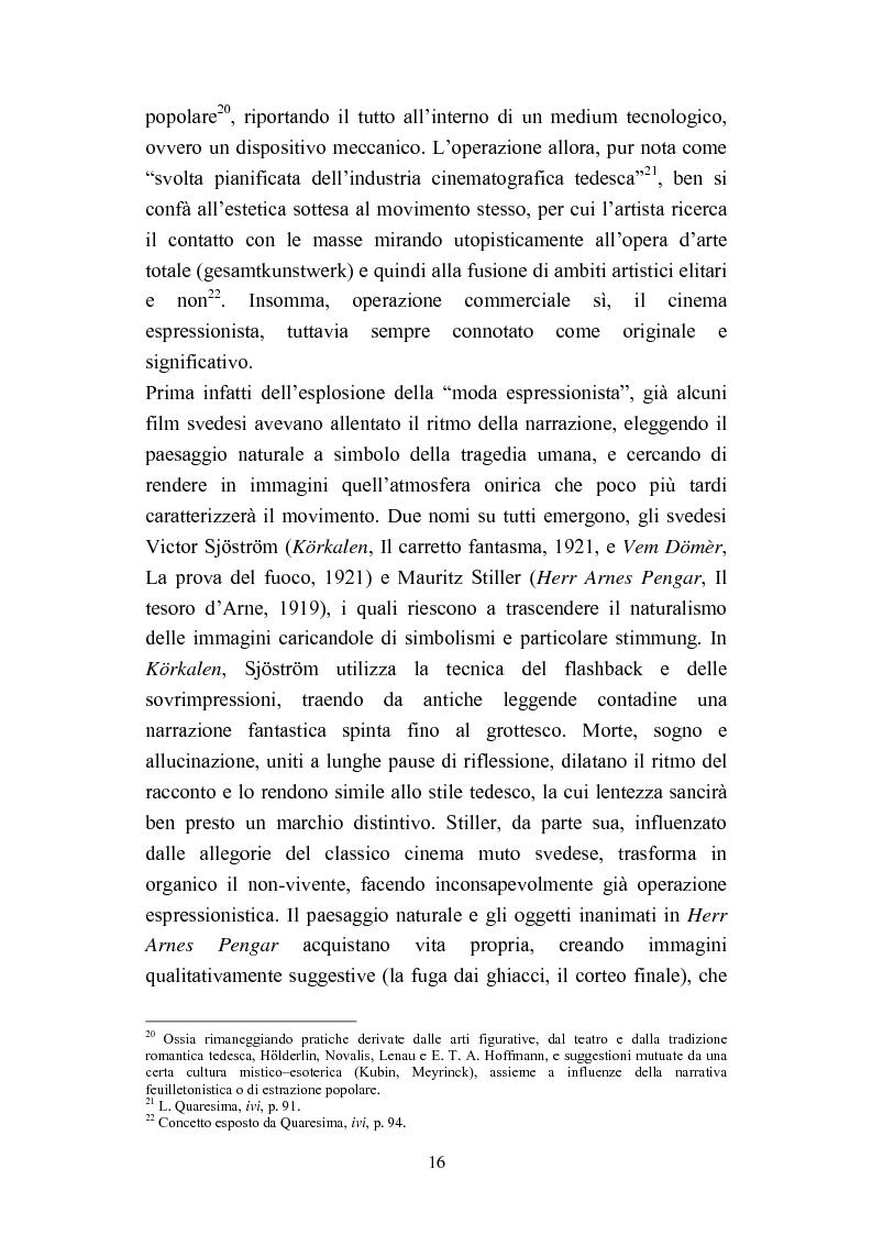 Anteprima della tesi: David Lynch e l'espressionismo postmoderno, Pagina 13