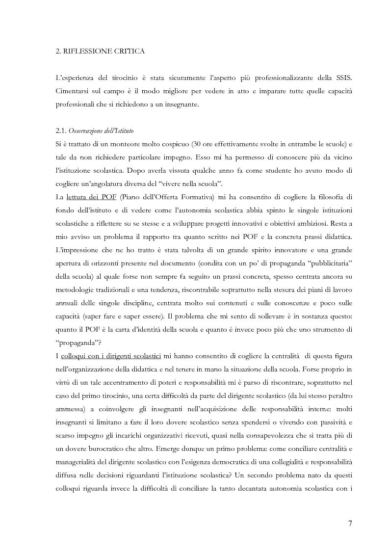 Anteprima della tesi: Proiezioni didattiche sul '900. Contemporaneità della filosofia tra Kant e Nietzsche, Pagina 4