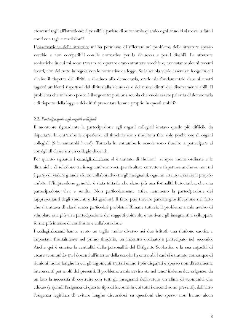 Anteprima della tesi: Proiezioni didattiche sul '900. Contemporaneità della filosofia tra Kant e Nietzsche, Pagina 5