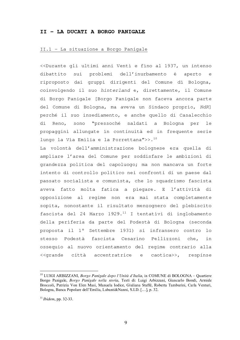 Anteprima della tesi: Storia della Ducati: da ''Società Scientifica Radio Brevetti Ducati'' a ''Ducati Motor Holding'', Pagina 7