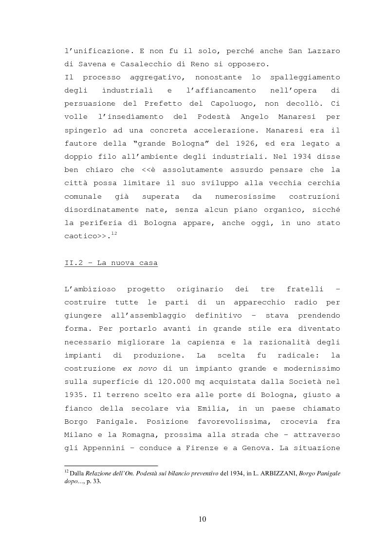 Anteprima della tesi: Storia della Ducati: da ''Società Scientifica Radio Brevetti Ducati'' a ''Ducati Motor Holding'', Pagina 8