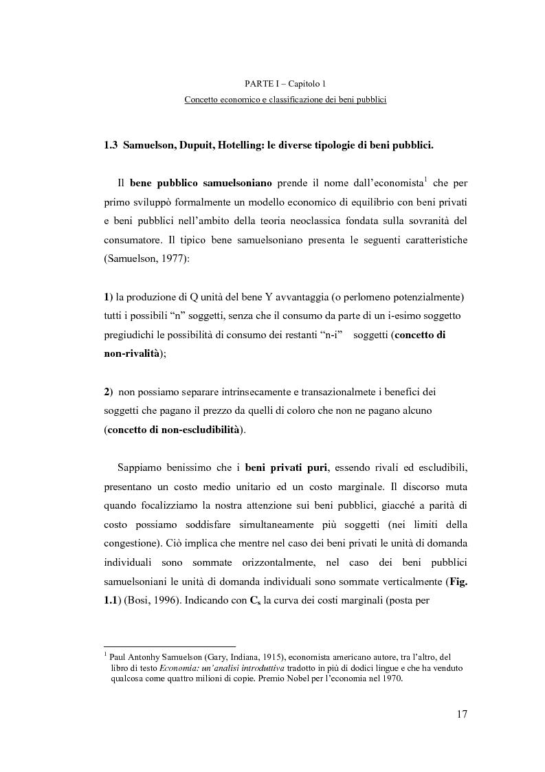Anteprima della tesi: La valutazione economica dei beni pubblici ambientali ed architettonico-culturali - Un'applicazione della valutazione contingente al sistema di beni culturali denominato ''Circuito Urbano delle Chiese Rupestri di Matera'', Pagina 10