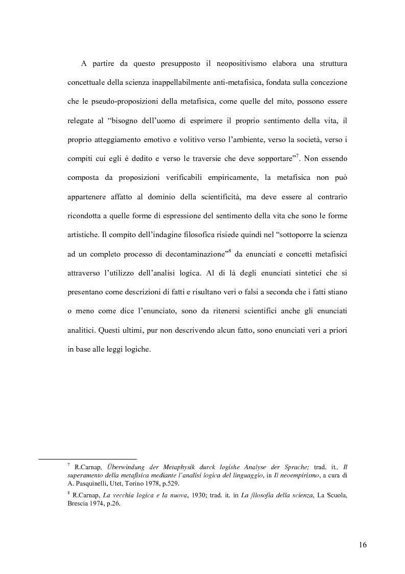 Anteprima della tesi: Oltre il neopositivismo e il relativismo: la proposta epistemologica di L. Laudan, Pagina 12