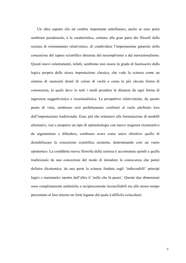 Anteprima della tesi: Oltre il neopositivismo e il relativismo: la proposta epistemologica di L. Laudan, Pagina 3