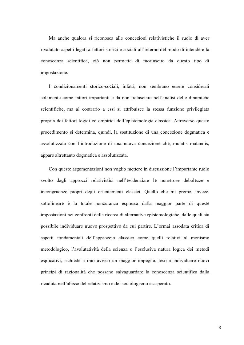 Anteprima della tesi: Oltre il neopositivismo e il relativismo: la proposta epistemologica di L. Laudan, Pagina 4