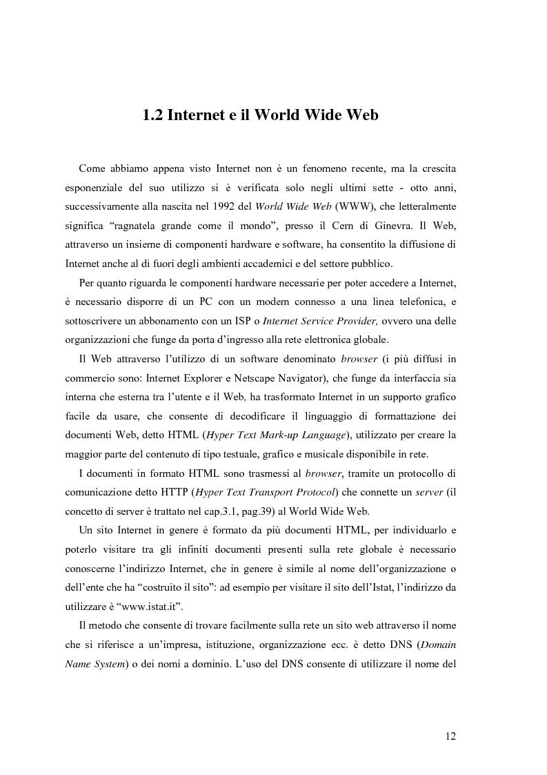 Anteprima della tesi: L'e-commerce nelle PMI del Friuli Venezia Giulia, Pagina 4