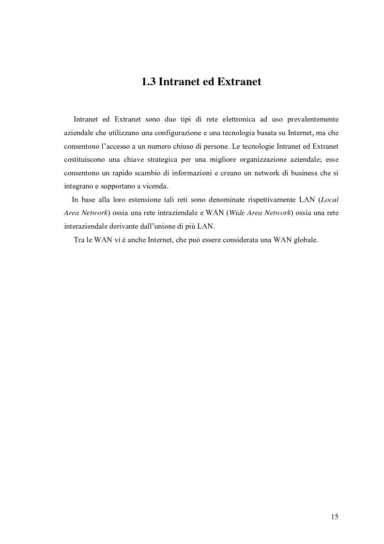 Anteprima della tesi: L'e-commerce nelle PMI del Friuli Venezia Giulia, Pagina 7