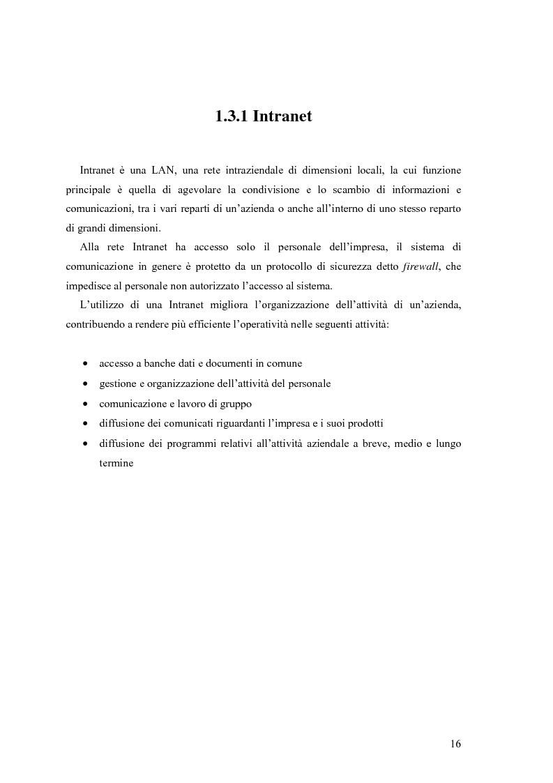 Anteprima della tesi: L'e-commerce nelle PMI del Friuli Venezia Giulia, Pagina 8