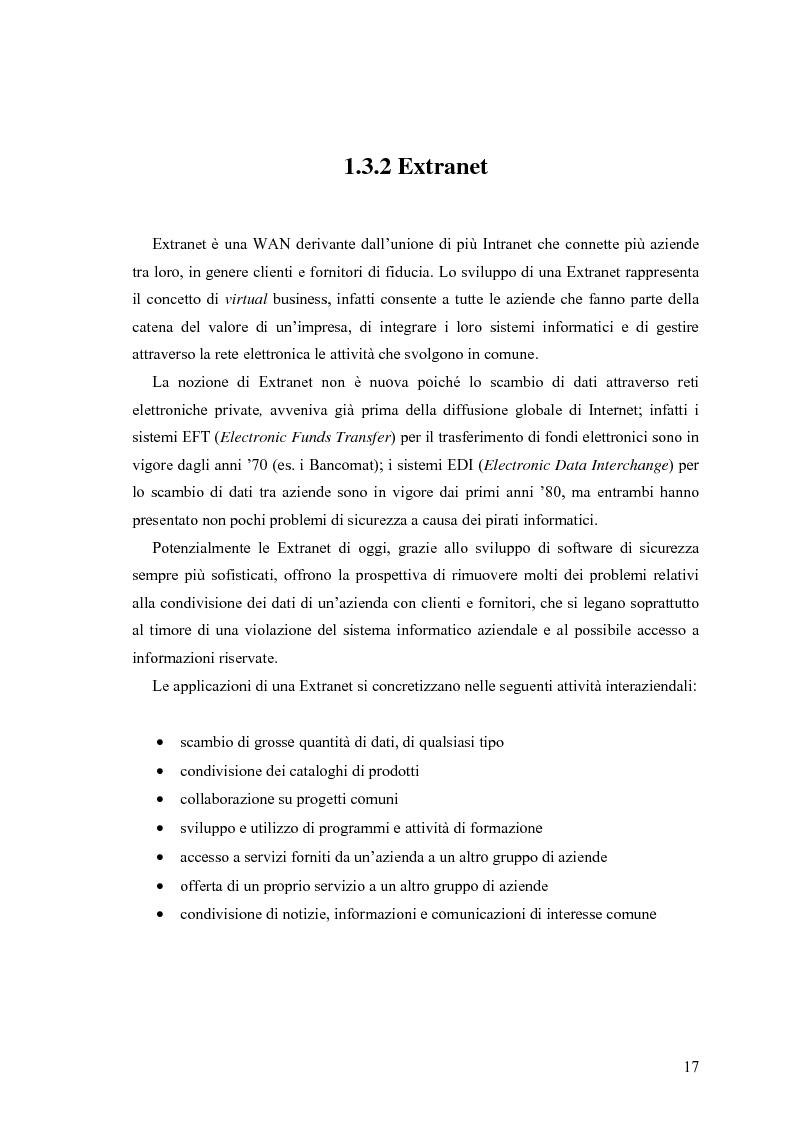 Anteprima della tesi: L'e-commerce nelle PMI del Friuli Venezia Giulia, Pagina 9