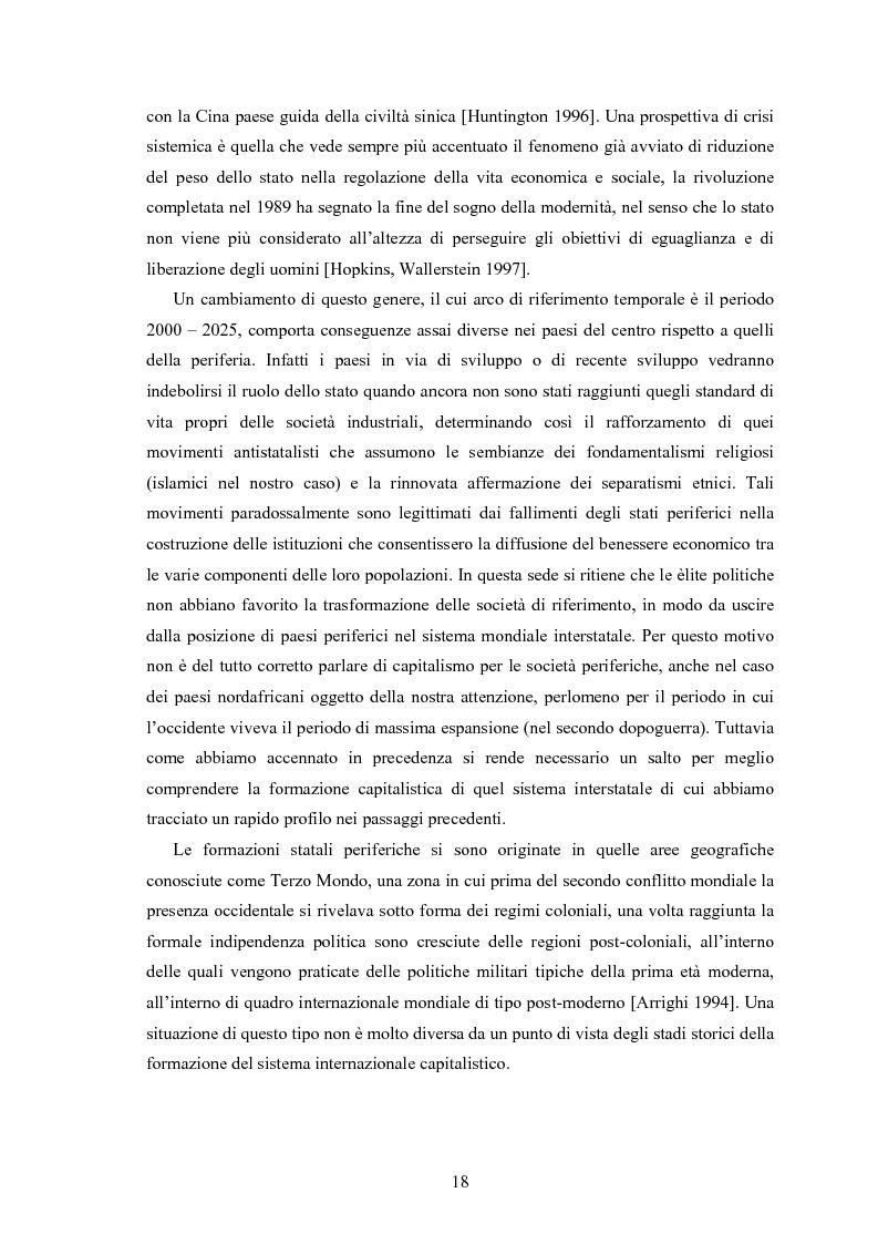 Anteprima della tesi: Capitalismo arabo/islamico. Possibilità di sviluppo economico in Algeria, Libia e Tunisia., Pagina 8