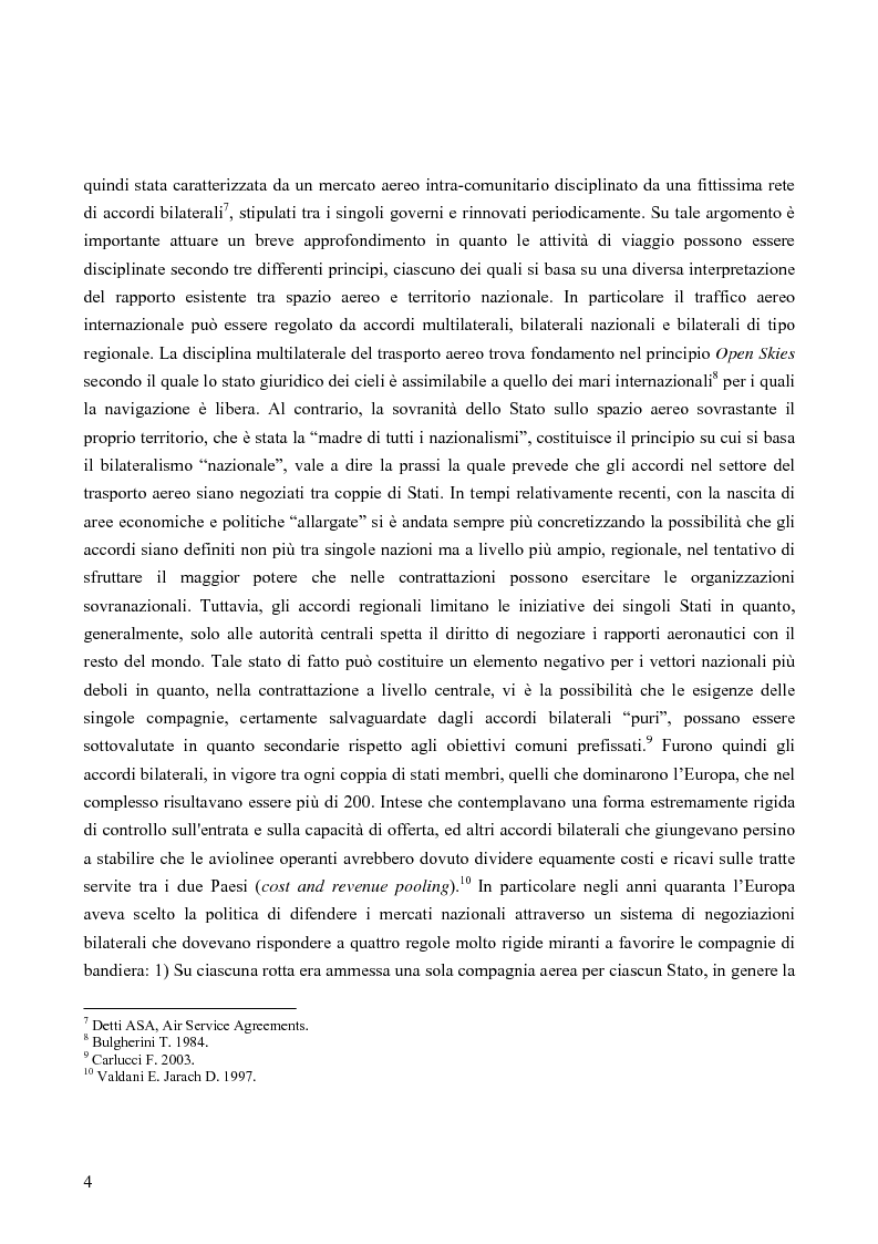 Anteprima della tesi: Strategie competitive nel settore aereo low-cost: casi a confronto, Pagina 7