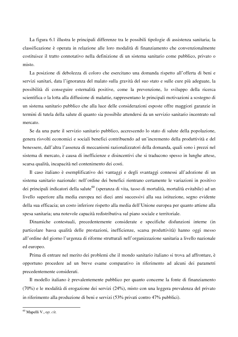 Anteprima della tesi: Economia del benessere: modelli teorici e prospettive metodologiche: il caso della percezione della salute, Pagina 10