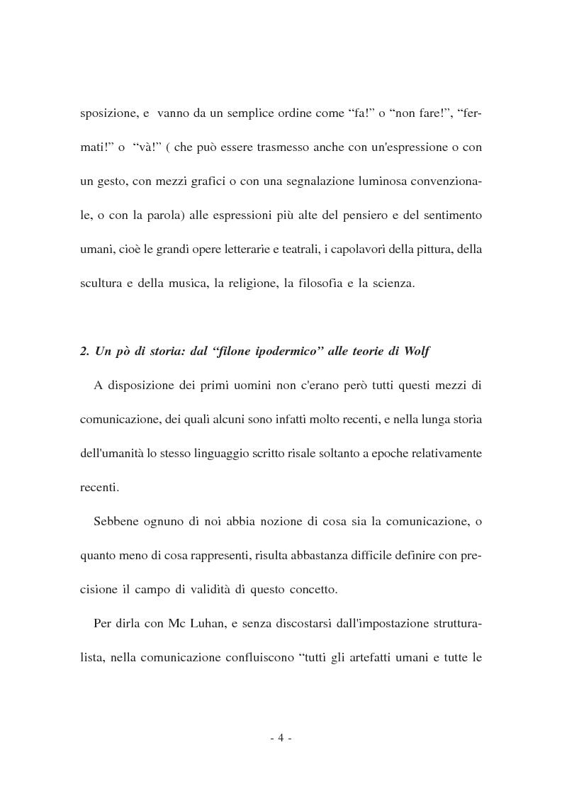 Anteprima della tesi: La Comunicazione politica. Modelli, linguaggi e sistema giuridico, Pagina 2