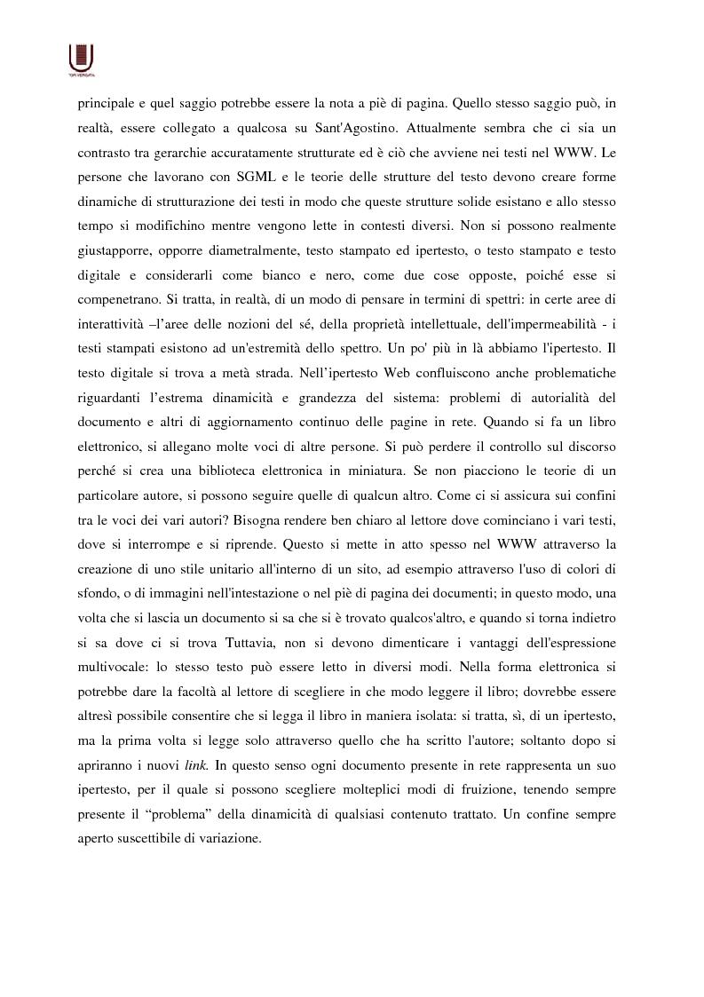 Anteprima della tesi: Valutazione delle risorse internet: il caso di William Shakespeare, Pagina 9